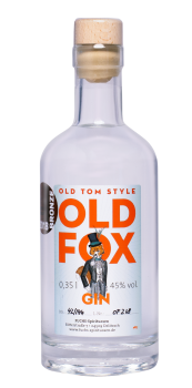 OLD FOX GIN 1x 350ml, 45% vol.